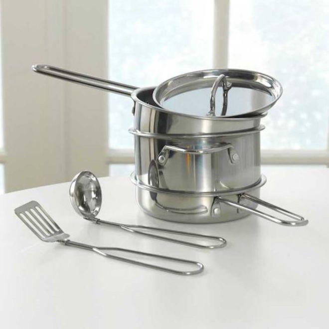 KidKraft Deluxe Cookware set image 2