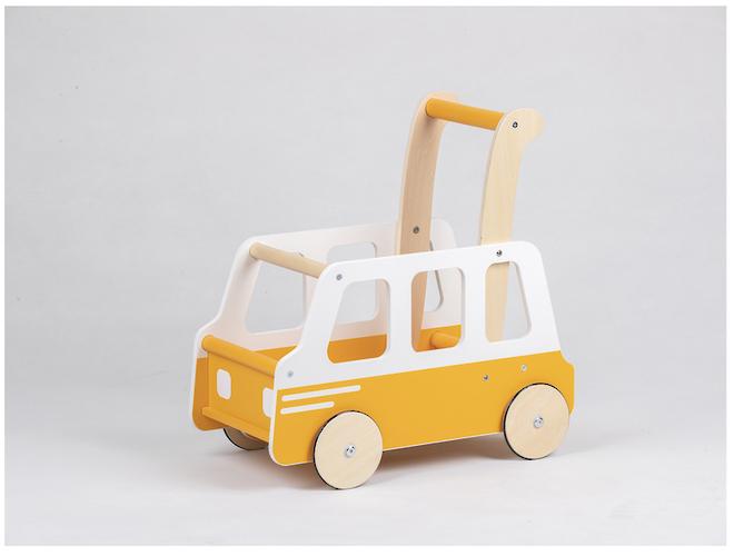 Moover Yellow School Bus Walker image 3