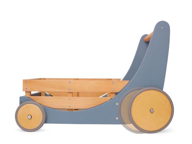 Kinderfeets Cargo Baby Walker Slate Blue - FREE DELIVERY - Ships direct from our NZ supplier in 1 - 2 days image 2