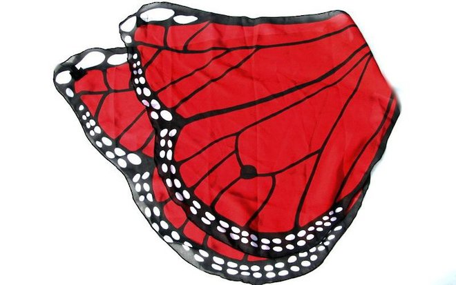Butterfly Wings red image 0