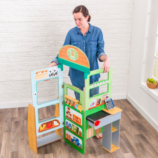 KidKraft Let's Pretend Grocery Store - FREE DELIVERY image 2