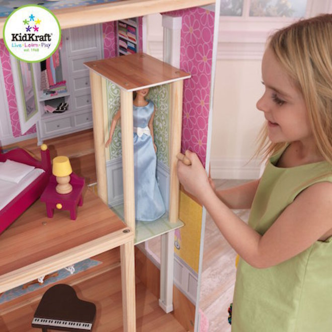 KidKraft Majestic Mansion Dollhouse - FREE DELIVERY - Pre-order now for late June arrival image 4