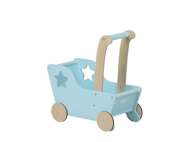 Moover Line Star Pram Aqua - Dispatched from NZ supplier in 1 - 2 days time image 3