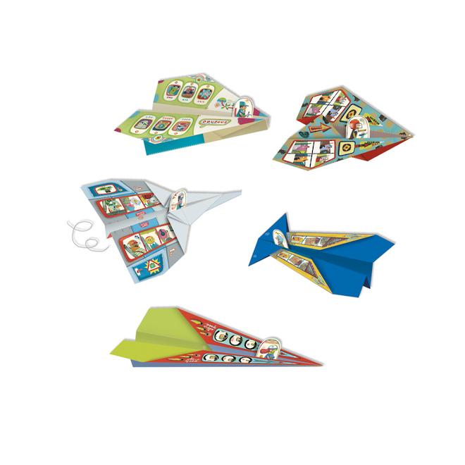 Djeco Origami Aircraft image 2