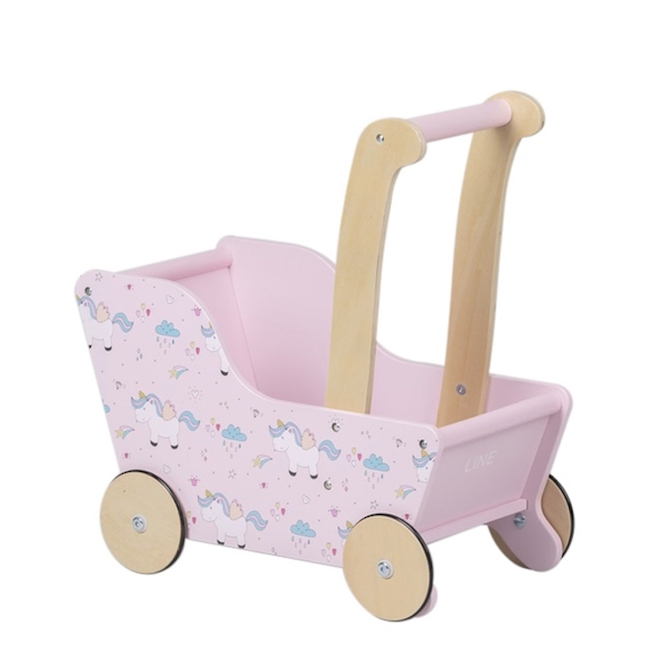 Moover Line Pram Pink Unicorn - Dispatched from NZ supplier in 1 - 2 days time image 0
