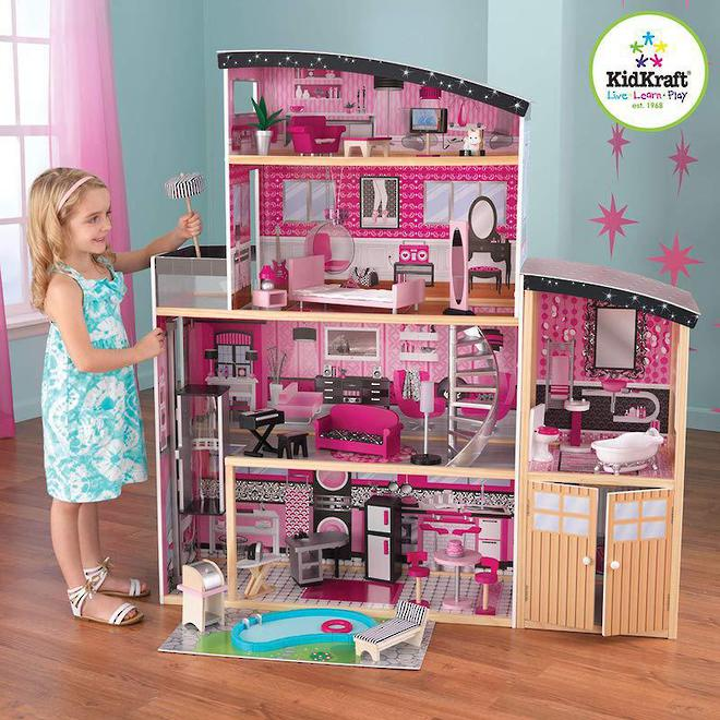 KidKraft Sparkle Mansion Dollhouse - FREE DELIVERY image 0