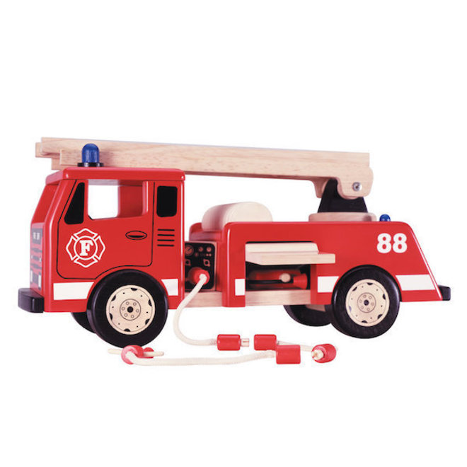 PinToy Fire Engine - FREE DELIVERY image 1