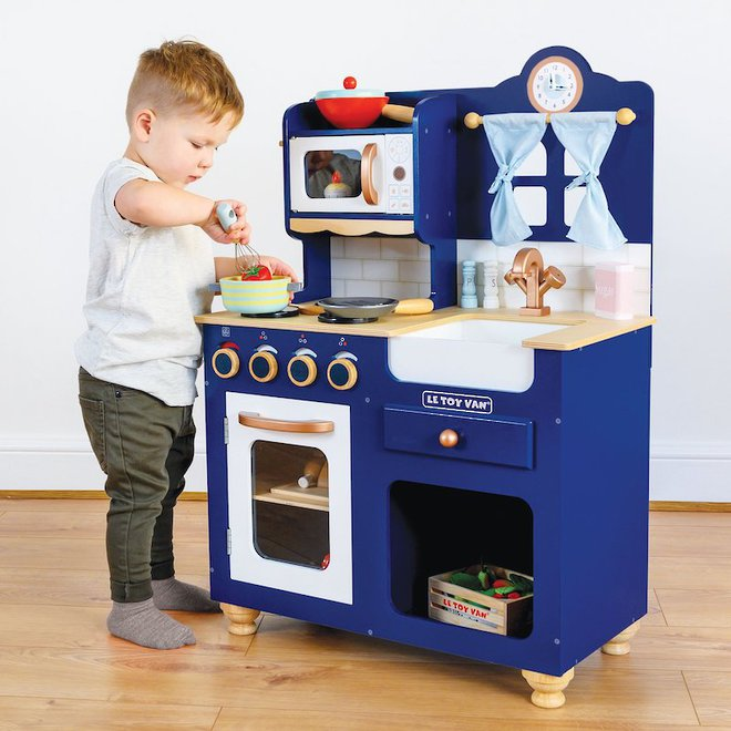 Le Toy Van Oxford Kitchen - FREE DELIVERY - Pre-orders accepted from shipment due to arrive early August image 0