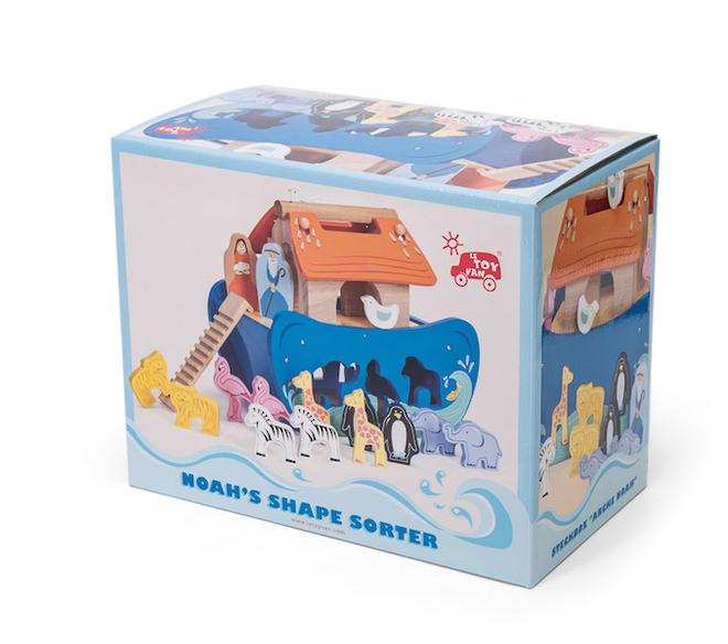Le Toy Van Noah's Ark Shape Sorter image 3