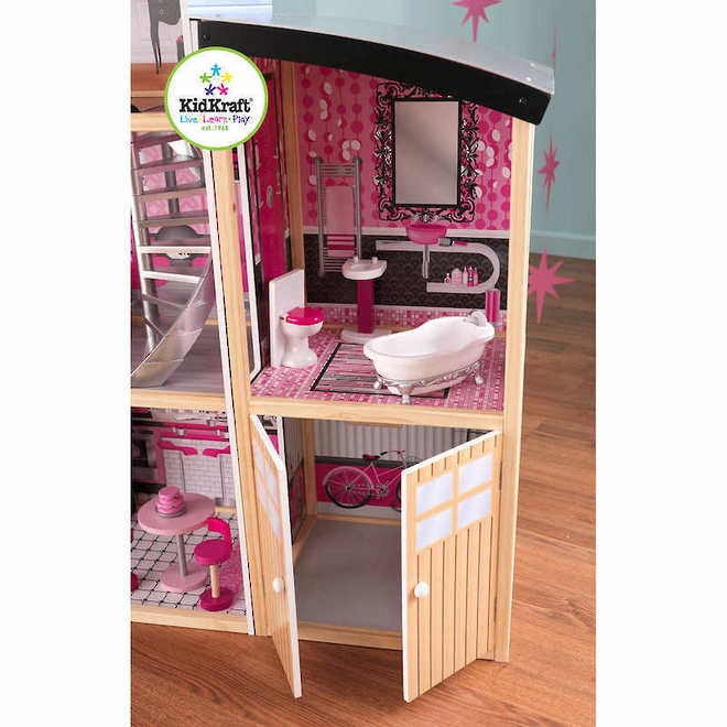 KidKraft Sparkle Mansion Dollhouse - FREE DELIVERY image 5
