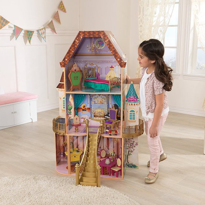 Disney Princess Belle Enchanted Dollhouse - FREE DELIVERY - Pre-order now for late June arrival image 0