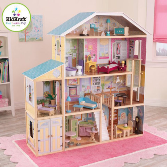 KidKraft Majestic Mansion Dollhouse - FREE DELIVERY - Pre-order now for late June arrival image 1