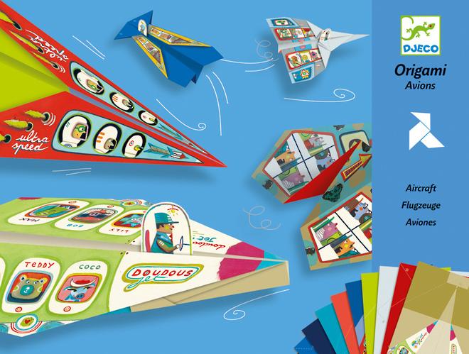 Djeco Origami Aircraft image 0
