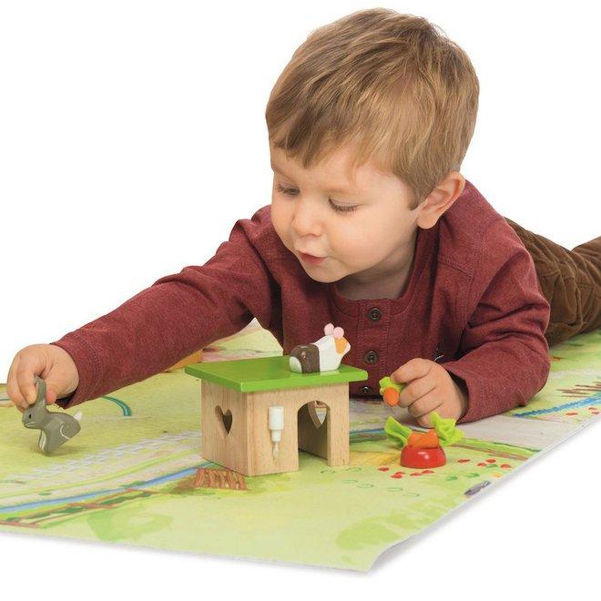 Le Toy Van Bunny & Guinea Pet Pals image 1