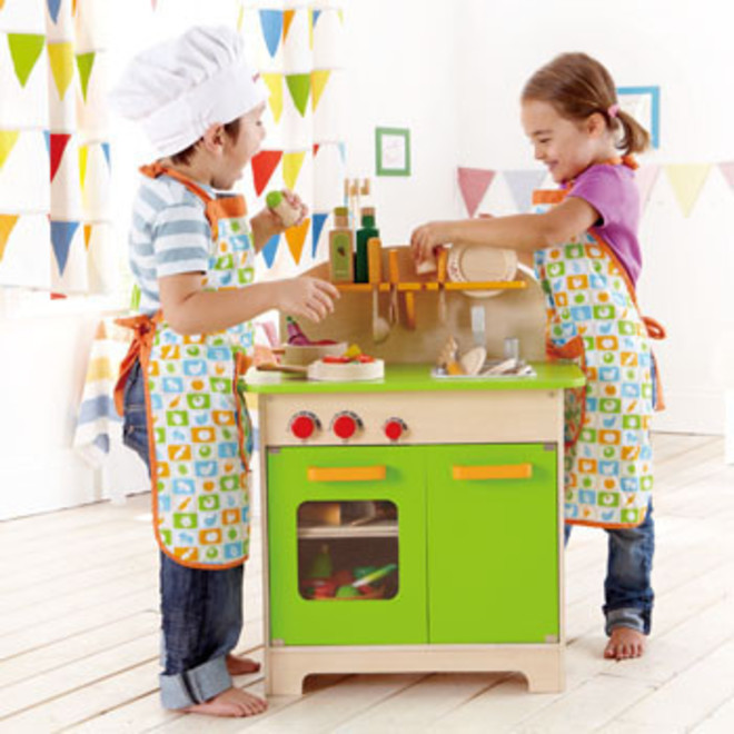 Hape Green Gourmet Kitchen - FREE DELIVERY image 1