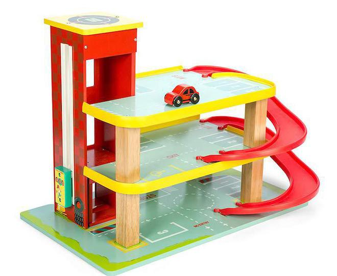 Le Toy Van Dino's Red Garage - FREE DELIVERY image 1