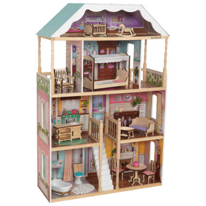 Kidkraft Charlotte Dollhouse - FREE DELIVERY - Pre-order now from our next shipment due here 23rd September image 0