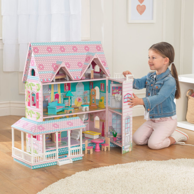 KidKraft Abbey Manor - FREE DELIVERY - Pre order now from our shipment due to arrive 14th December image 0