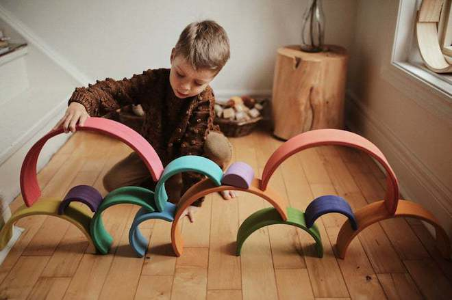 Kinderfeets Rainbow Arches Large - FREE NZ Delivery image 3