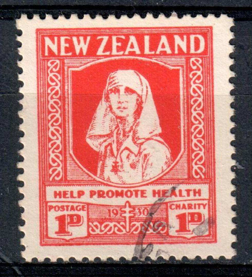 NEW ZEALAND 1930 Health. Help Promote Health. - 19330 - VFU image 0