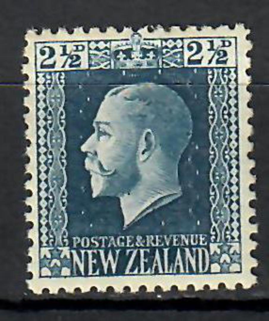 NEW ZEALAND 1915 Geo 5th Definitive 2½d Blue. - 70670 - UHM image 0