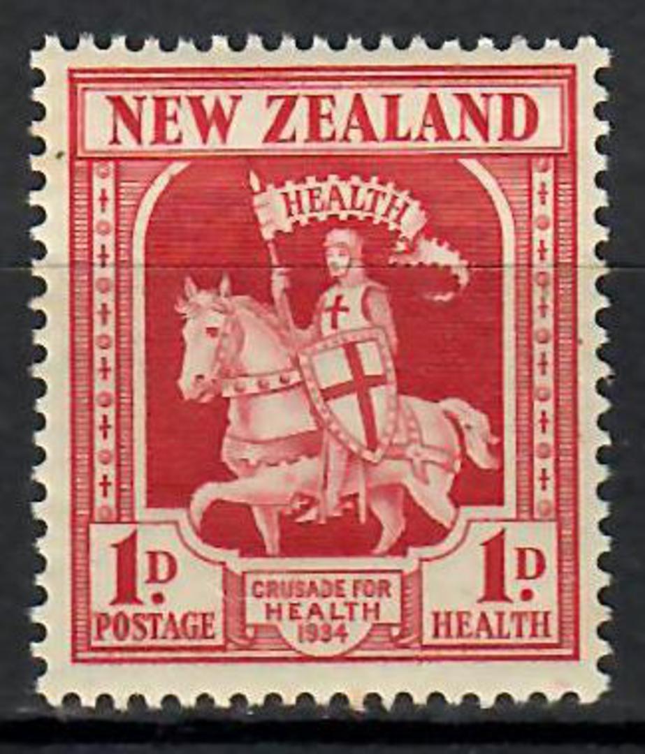 NEW ZEALAND 1934 Health Crusader - 70650 - UHM image 0