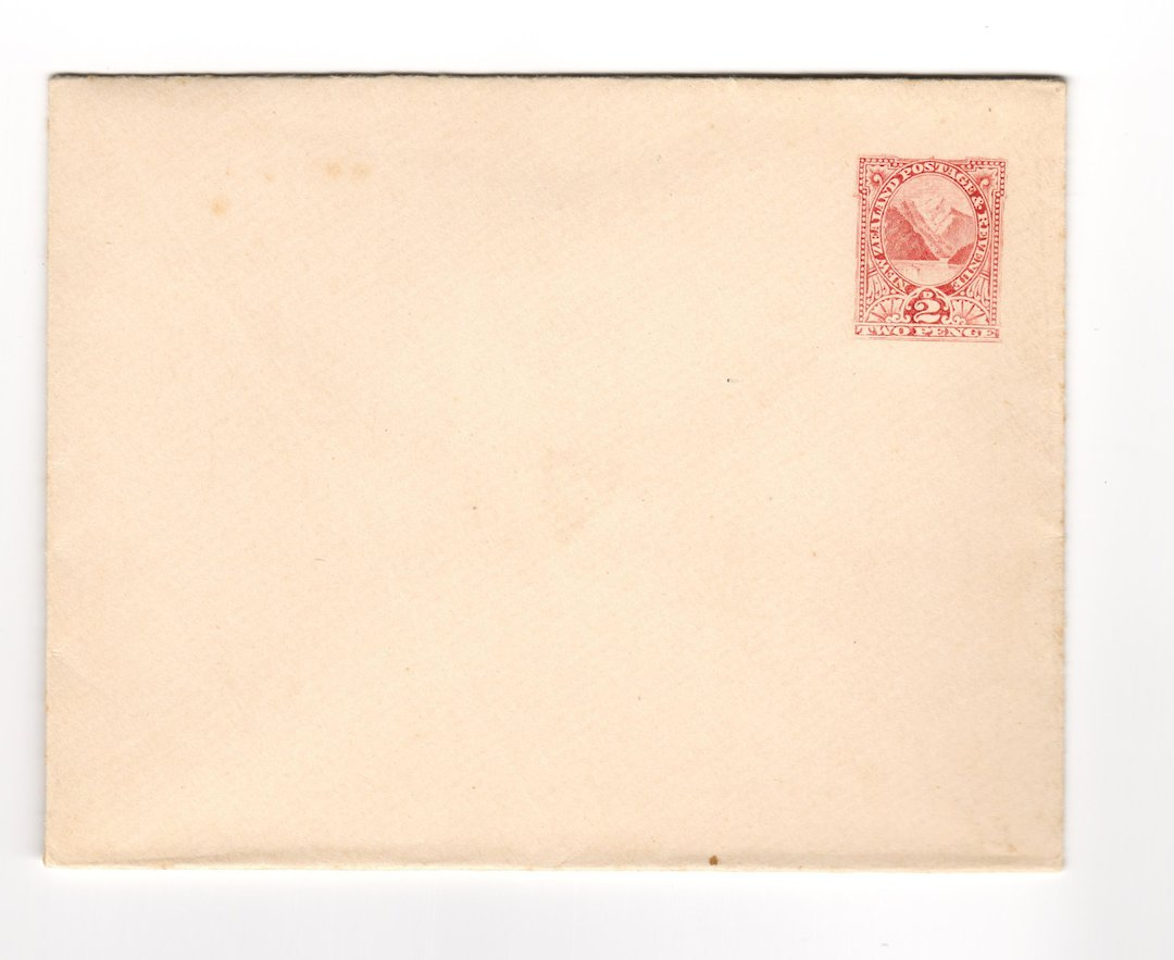 NEW ZEALAND 1898 Postal Stationery 2d Red. Unused. - 30929 - PostalStaty image 0