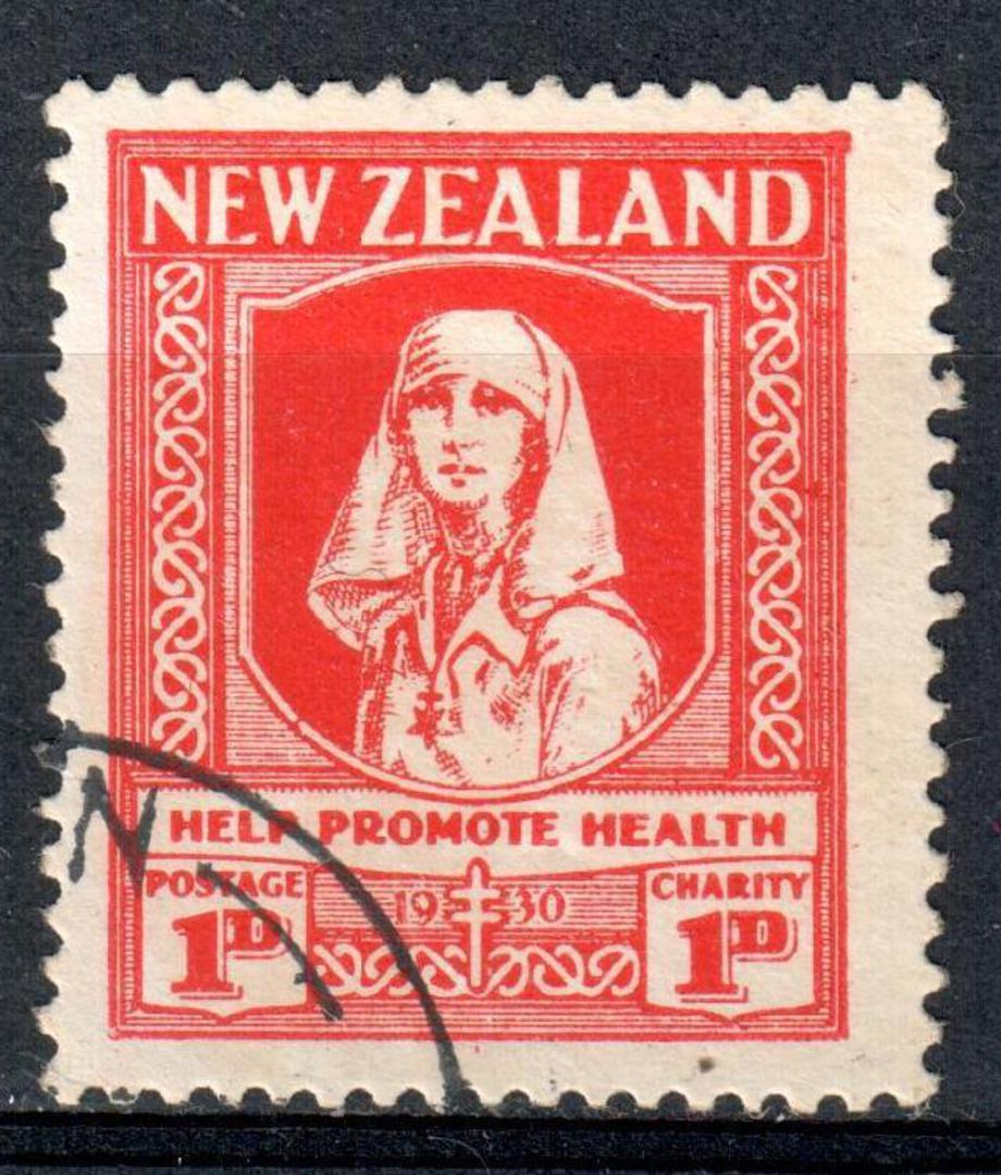 NEW ZEALAND 1930 Help Promote Health. - 75153 - CTO image 0