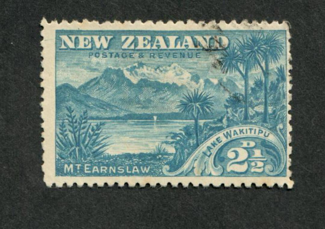 NEW ZEALAND 1898 Pictorial 2½d Lake Wakitipu. The incorrect spelling. - 10040 - FU image 0