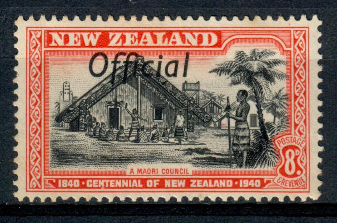 NEW ZEALAND 1940 Centennial Official 8d Maori Council. - 247 - UHM image 0