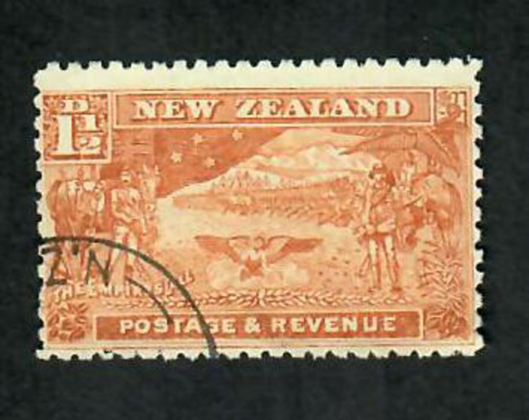 NEW ZEALAND 1898 Pictorial 1½d Boer War. - 75151 - CTO image 0