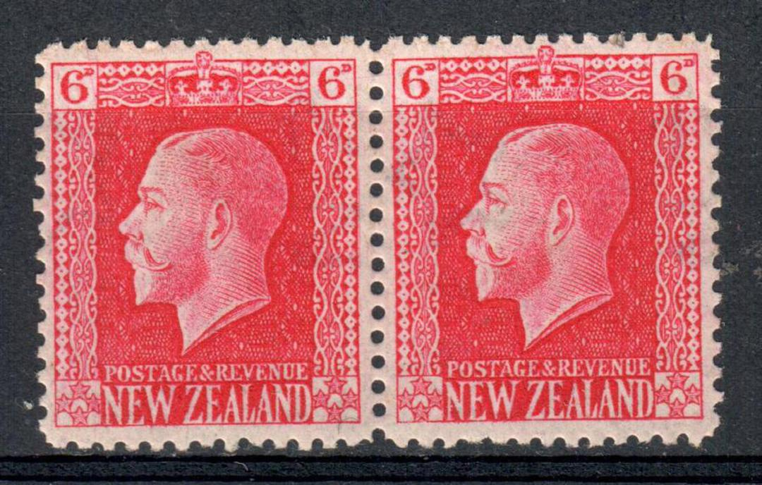NEW ZEALAND 1915 Geo 5th Definitive 3d Chocolate. Recess with Sideways Watermark on 'Pictorial' Paper. - 75140 - VFU image 0