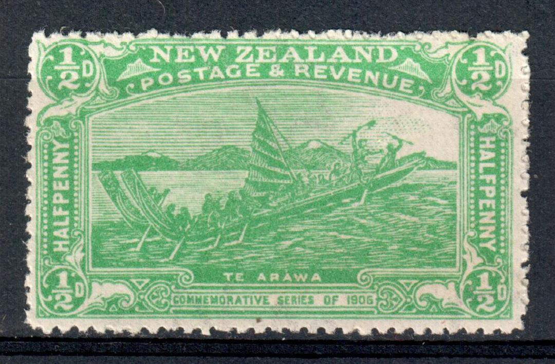 NEW ZEALAND 1906 Christchurch Exhibition ½d Green. - 66 - UHM image 0