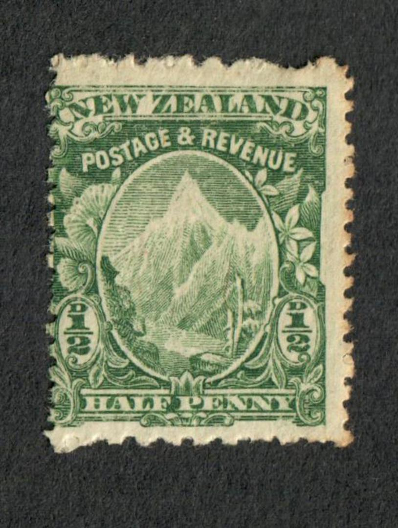 NEW ZEALAND 1898 Pictorial ½d Green. Basted Mills Paper. Perf 11x14. - 75022 - Mint image 0