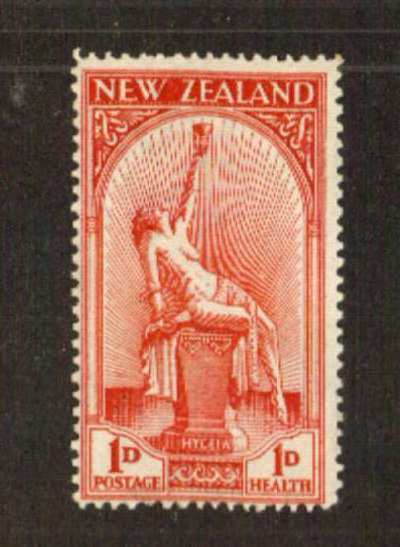 NEW ZEALAND 1932 Health in fine uhm condition. A slight light bend is visible from the reverse. - 71384 - UHM image 0