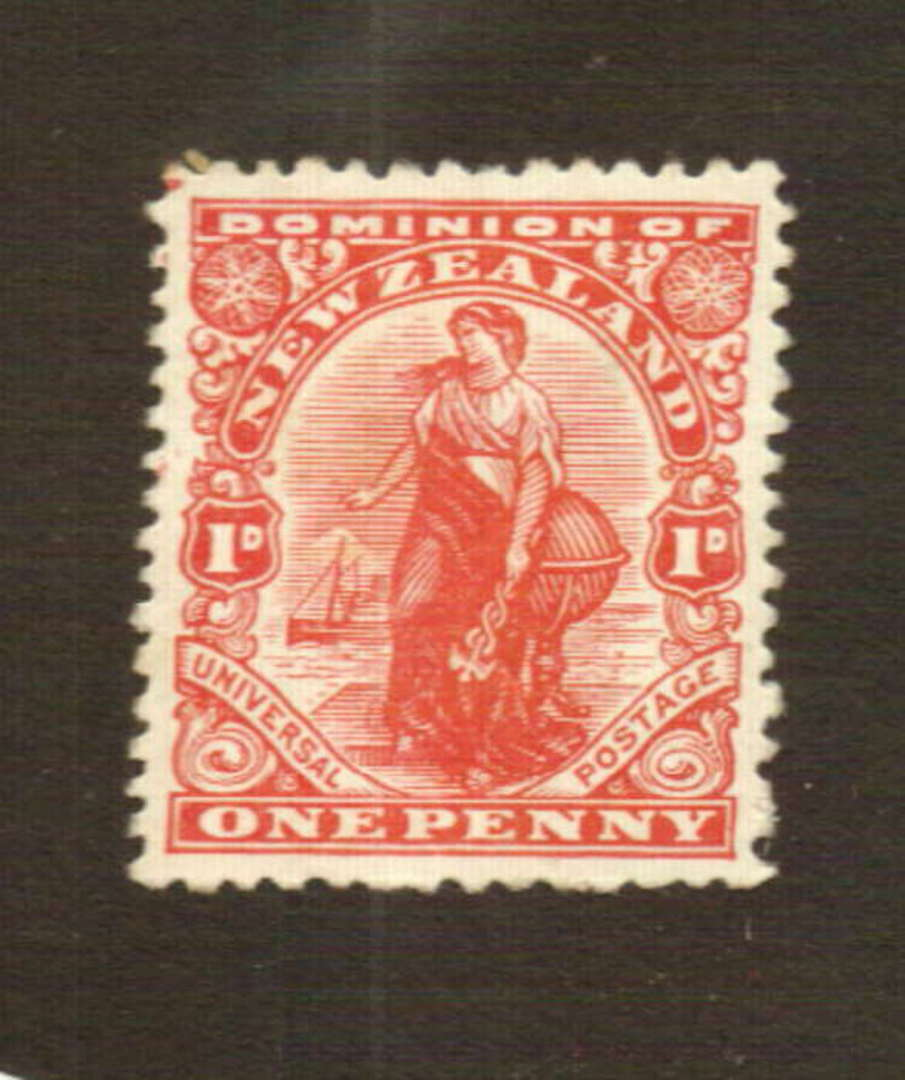 NEW ZEALAND 1926 1d Dominion. Cowan Thick Chalky paper. - 74768 - Mint image 0