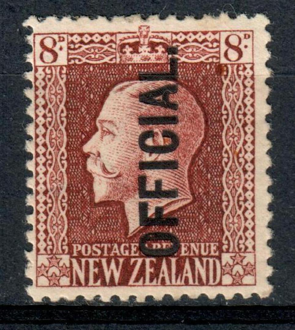 NEW ZEALAND 1915 Geo 5th Official - 114 - UHM image 0