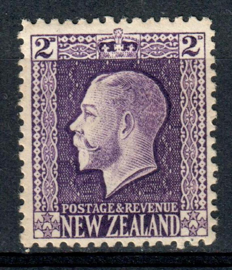 NEW ZEALAND 1915 Geo 5th Definitive 2d Violet. - 97 - UHM image 0