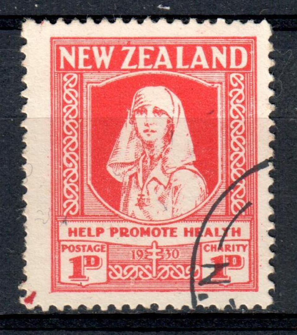 NEW ZEALAND 1930 Help Promote Health. - 75143 - CTO image 0
