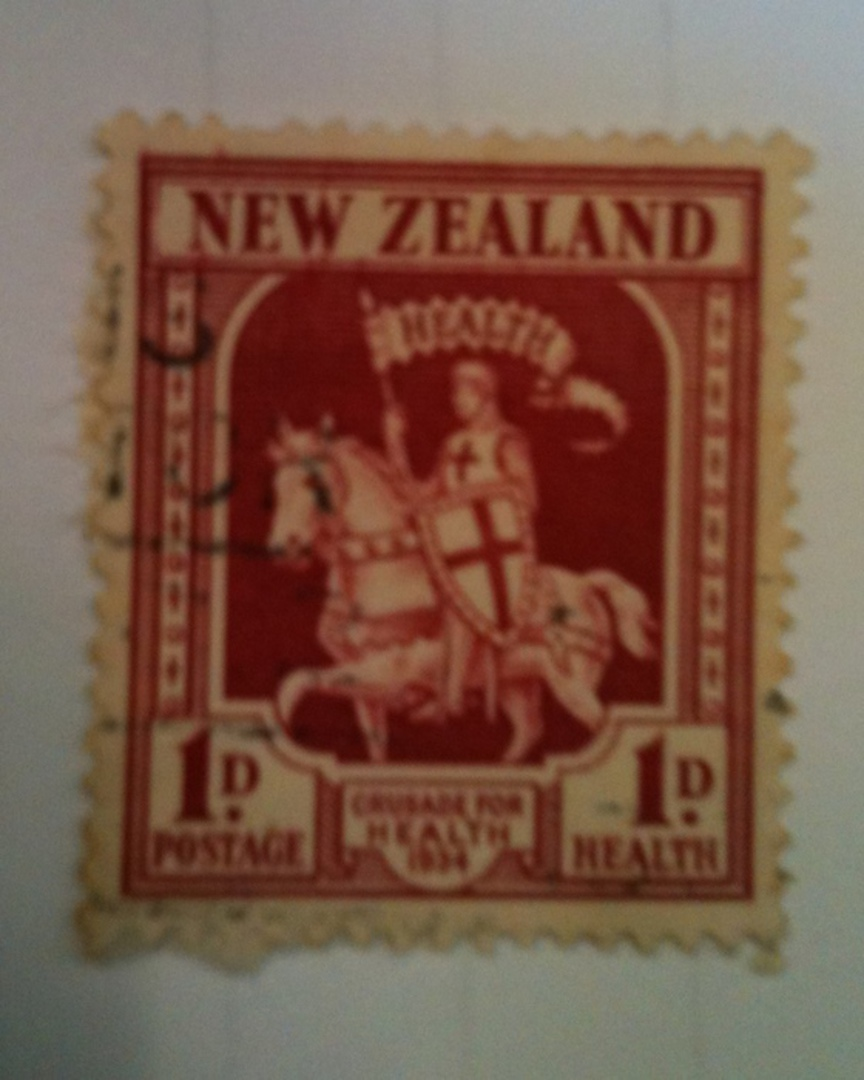 NEW ZEALAND 1934 Health. Commercial usage but excellent cancel. - 71906 - FU image 0