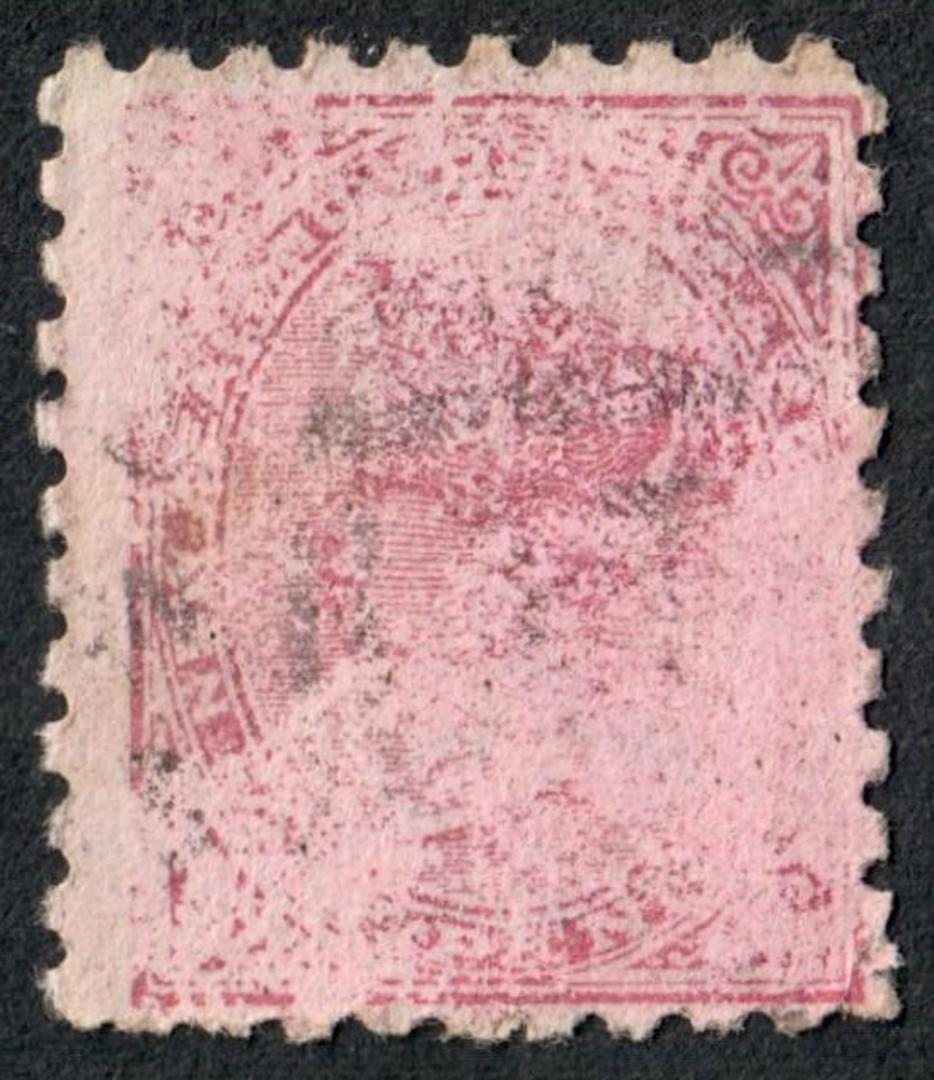NEW ZEALAND 1882 Victoria 1st Second Sideface 1d Red. Dodshun's are well up to date in  Tweeds. Second setting. - 3963 - Used image 0