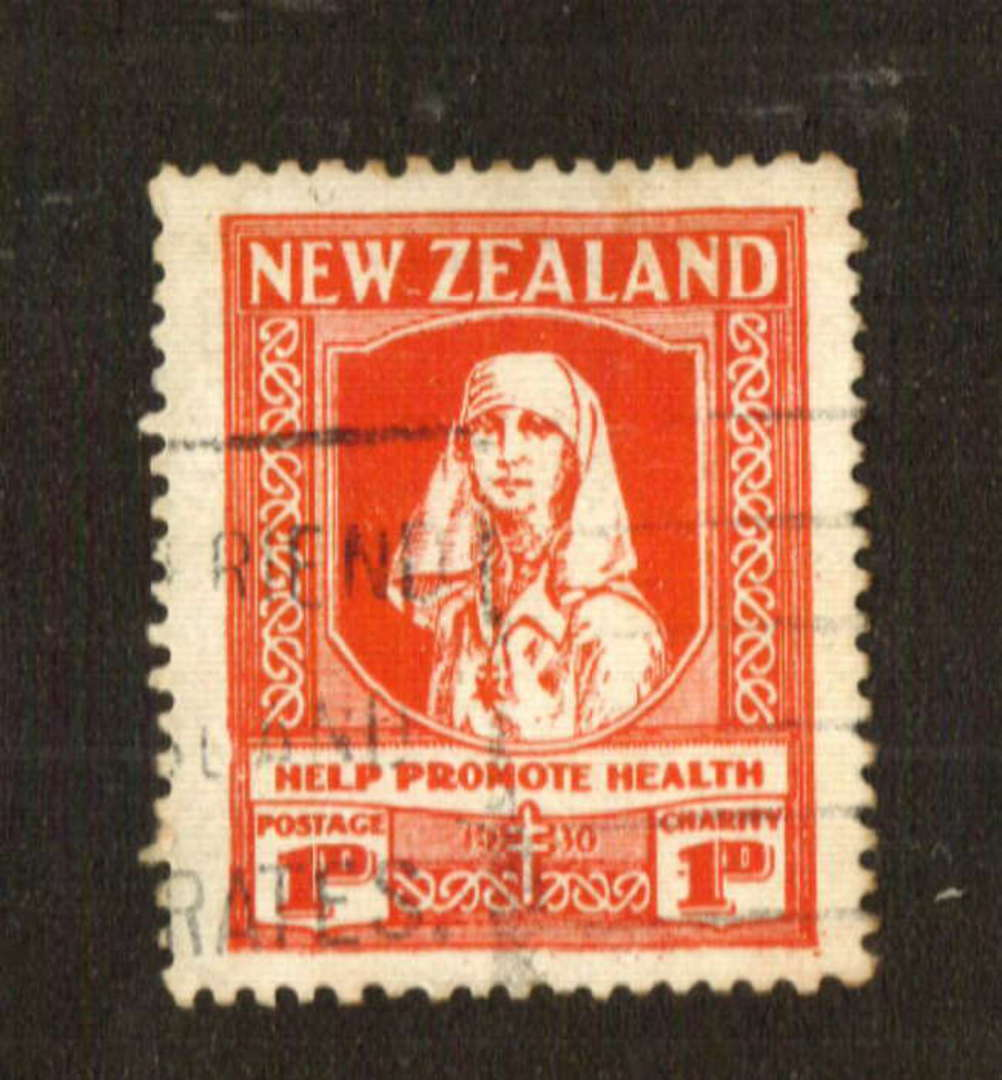 NEW ZEALAND 1930 Health. Commercially used with light roller cancel. Good perfs. - 74715 - Used image 0
