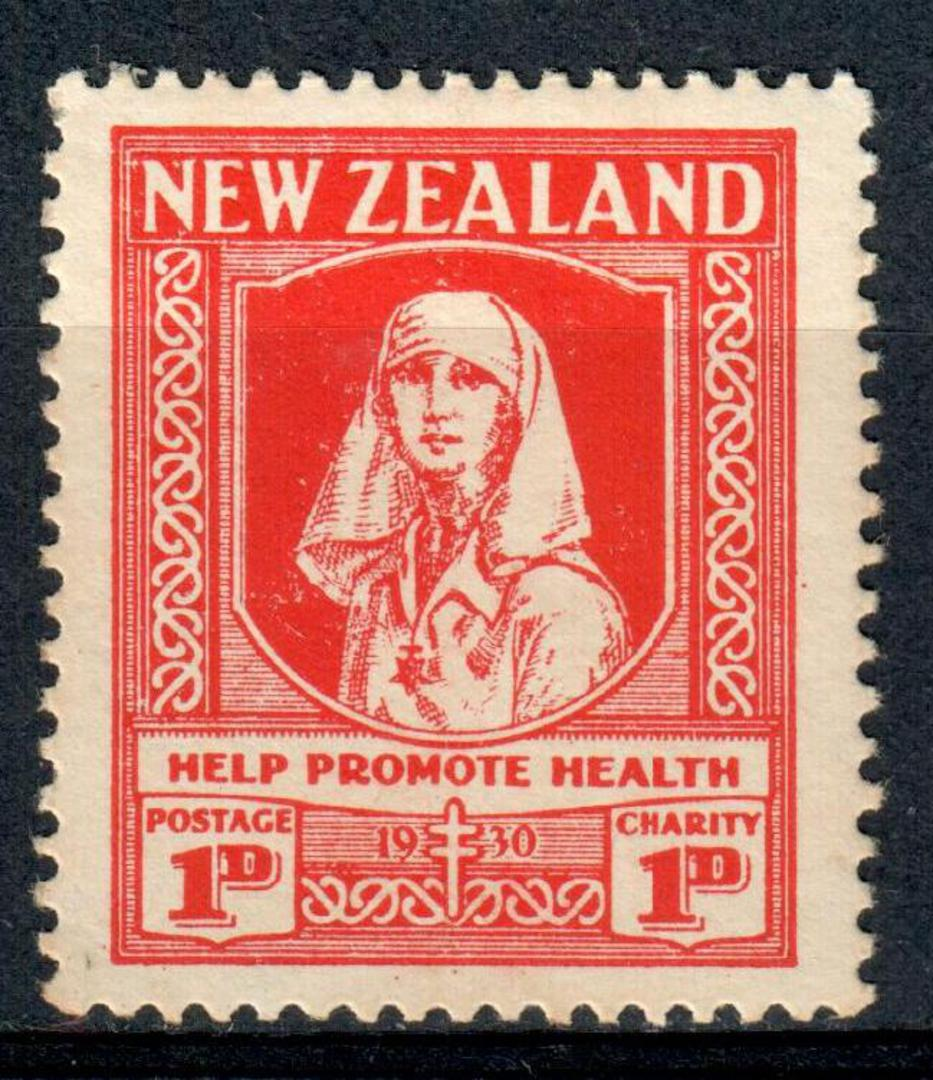 NEW ZEALAND 1930 Health.Lightly hinged. - 3546 - LHM image 0