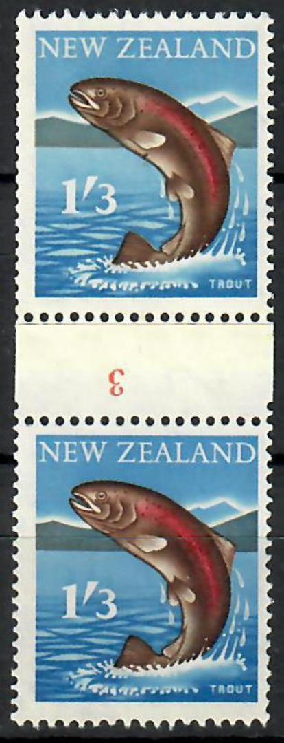 NEW ZEALAND 1960 Pictorial 1/3 Coil. - 70492 - UHM image 0