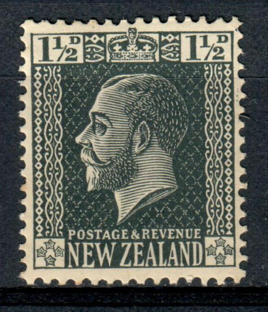 NEW ZEALAND 1915 Geo 5th Local 1½d Grey. - 127 - UHM image 0