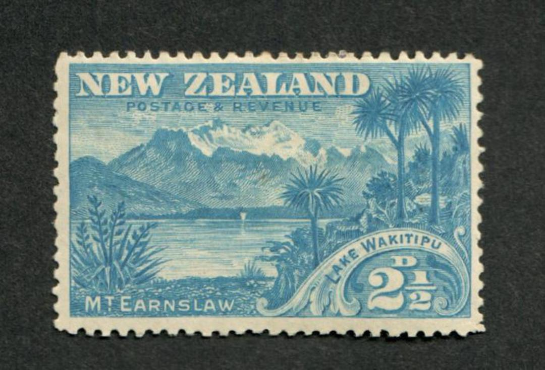 NEW ZEALAND 1898 Pictorial 2½d Wakitipu. - 40 - UHM image 0