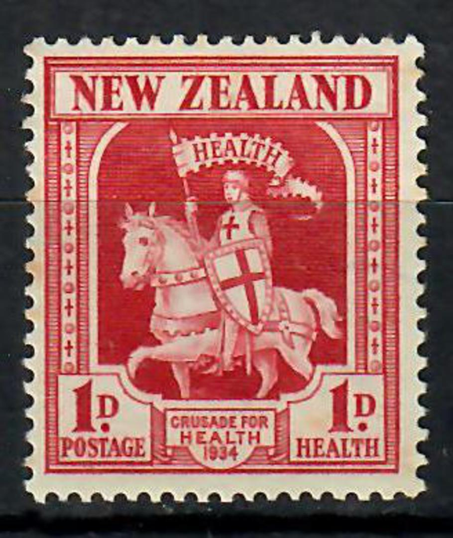 NEW ZEALAND 1934 Health Crusader. - 70552 - LHM image 0