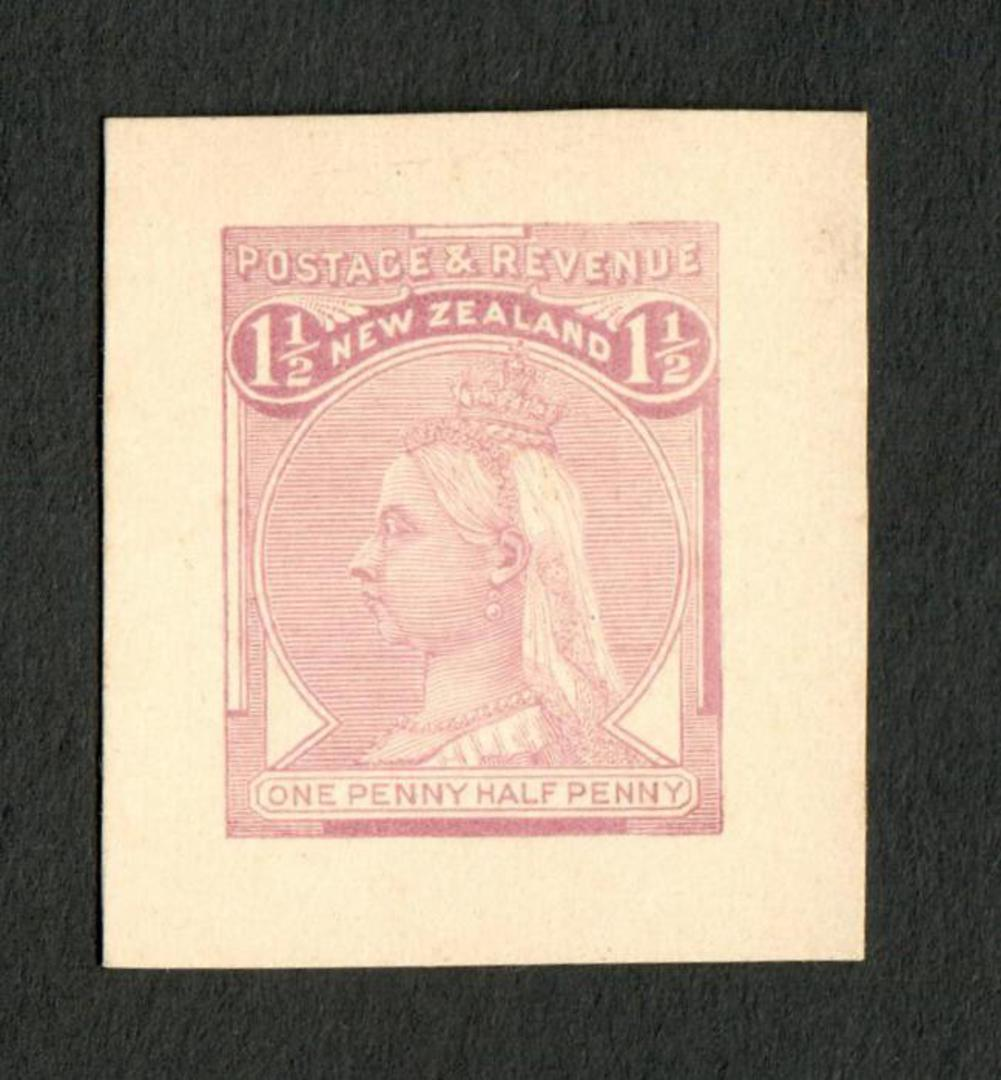 NEW ZEALAND 1882 Second Sideface 1½d Violet. Proof. - 70469 - Proof image 0