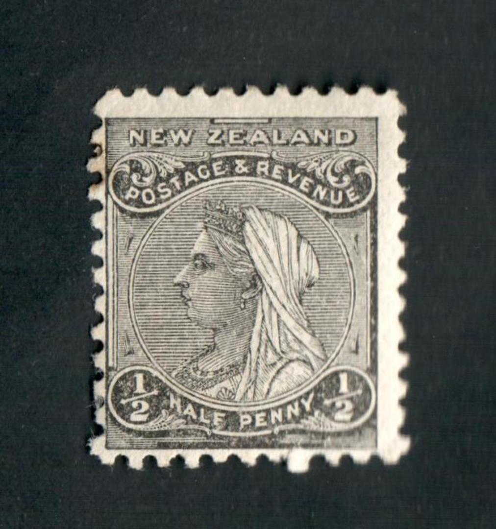 NEW ZEALAND 1882 Victoria 1st Definitive ½d Black. - 27 - Mint image 0