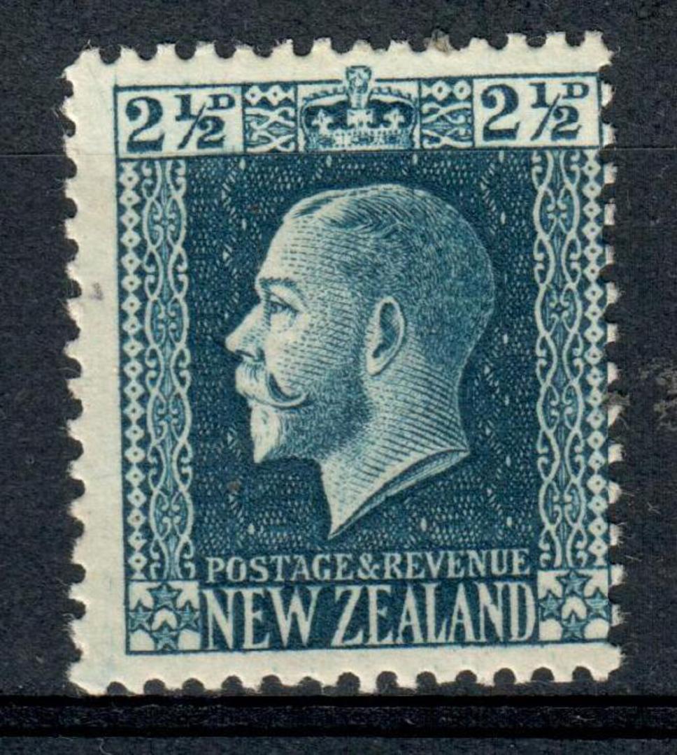 NEW ZEALAND 1915 Geo 5th Definitive 2½d Blue. - 99 - UHM image 0